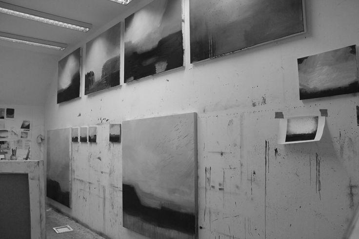 Busy in my studio 2015