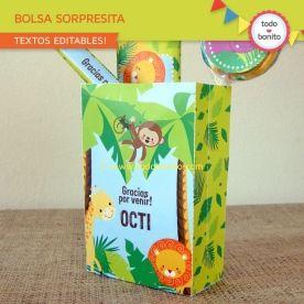 Selva: bolsa sorpresita