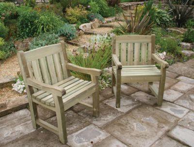 Cotswold Wooden Garden Chair