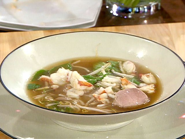 Lobster Pho Recipe : Emeril Lagasse : Food Network - FoodNetwork.com