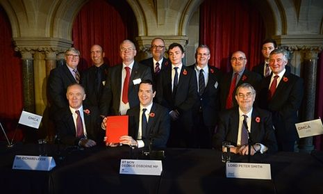 Where are the women? The 'pale, male' council leaders driving the northern powerhouse