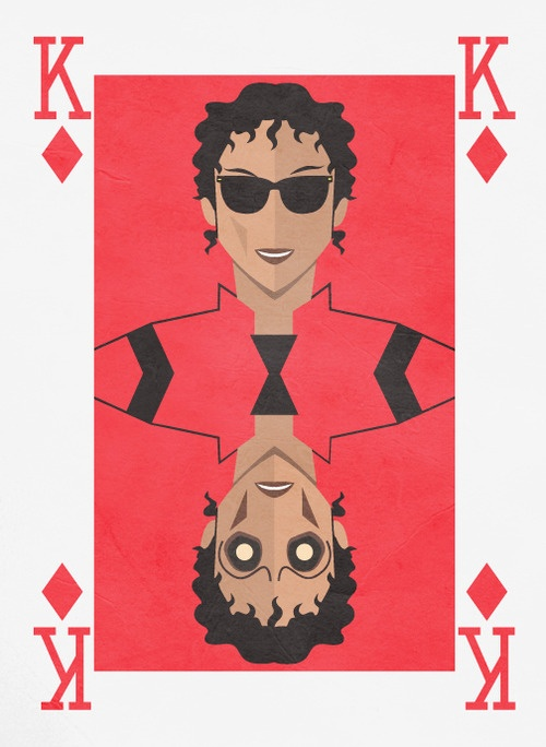 Michael Jackson Thriller Card