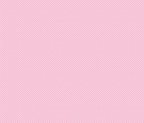 mini polka dots 2 light pink and white fabric by misstiina on Spoonflower - custom fabric