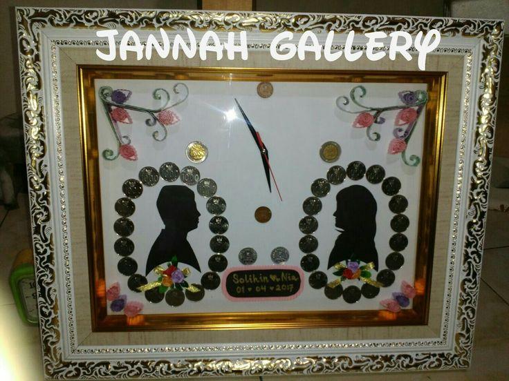 Made by: jannah# siluet koin# iin💕nia wedding