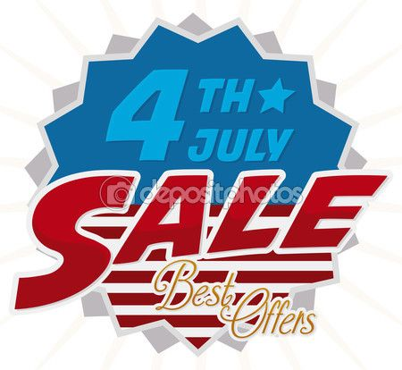 Poster Announcing 4th July Special Offers