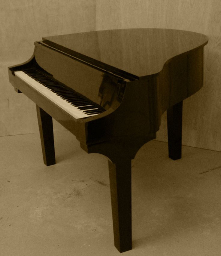 Stanford custom piano shells portable baby grand piano Size of baby grand piano