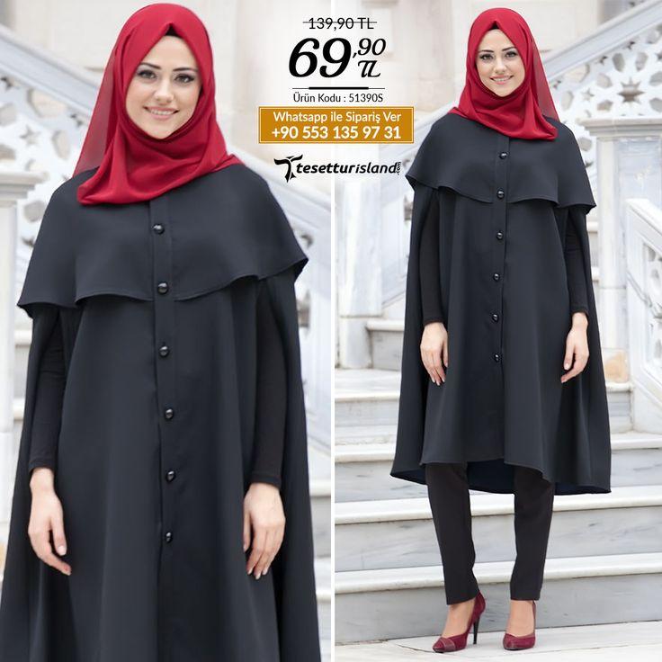 Neva Style - Siyah Tunik #tesettur #tesetturabiye #tesetturgiyim #tesetturelbise #tesetturabiyeelbise #kapalıgiyim #kapalıabiyemodelleri #şıktesetturabiyeelbise #kışlıkgiyim #tunik #tesetturtunik