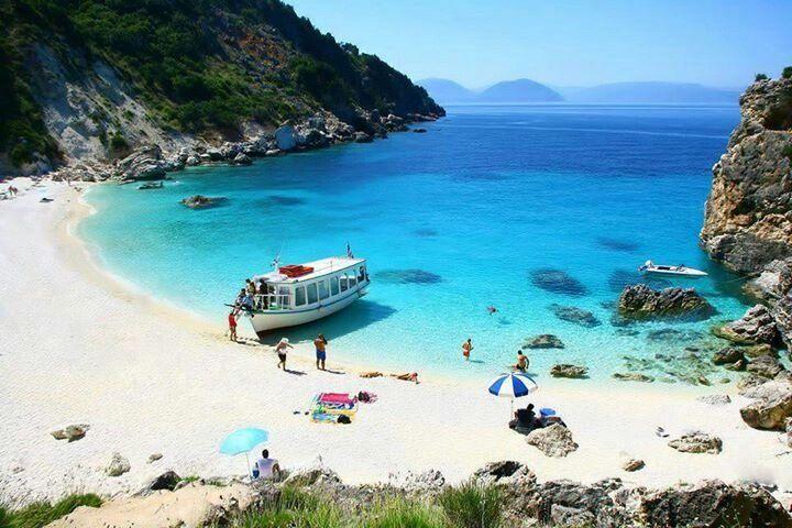 https://www.facebook.com/PoseidonHolidaysAndTours?ref=hl Lefkada Agiofili, Greece.  Lovin' that beach!