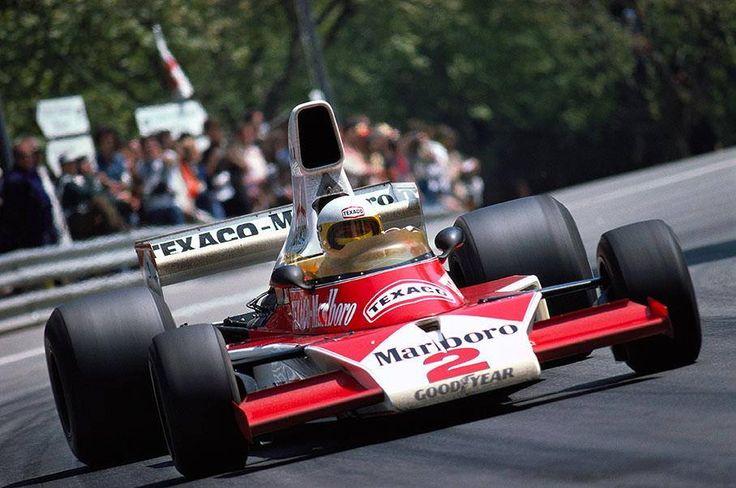 Jochen Mass Spain 1975 McLaren M-23
