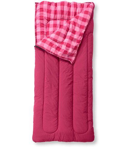 Kids Camp Sleeping Bag Flannel Lined 40 Sleeping Bags