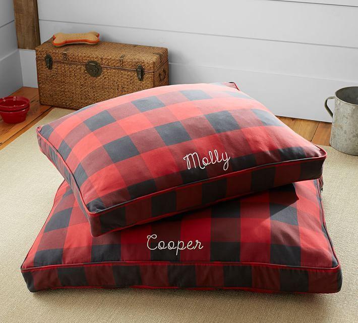 Buffalo Plaid Dog Bed