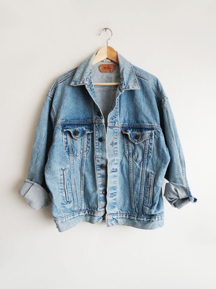 Light Wash Levis Jacket // Vintage Levis Jacket SOLD