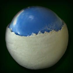 Tutorial pictures for hollow ball,  Part 2