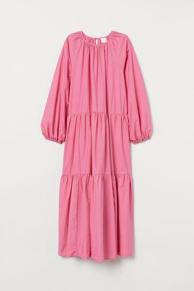 kleid mit ballonaermeln in 2020 kleider kleid mit aermel orsay kleider