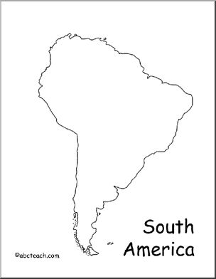 South America Map Outline Tattoos Pinterest America South america map