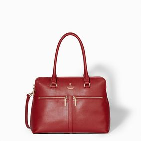 Pippa Large Grab Bag Cherry Red