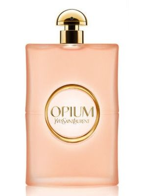 Yves St Laurent: Opium Vapeurs de Parfum. Orange blossom, mandarin, jasmine, incense. This flanker is softer and quieter than the '77 original, and very pretty.