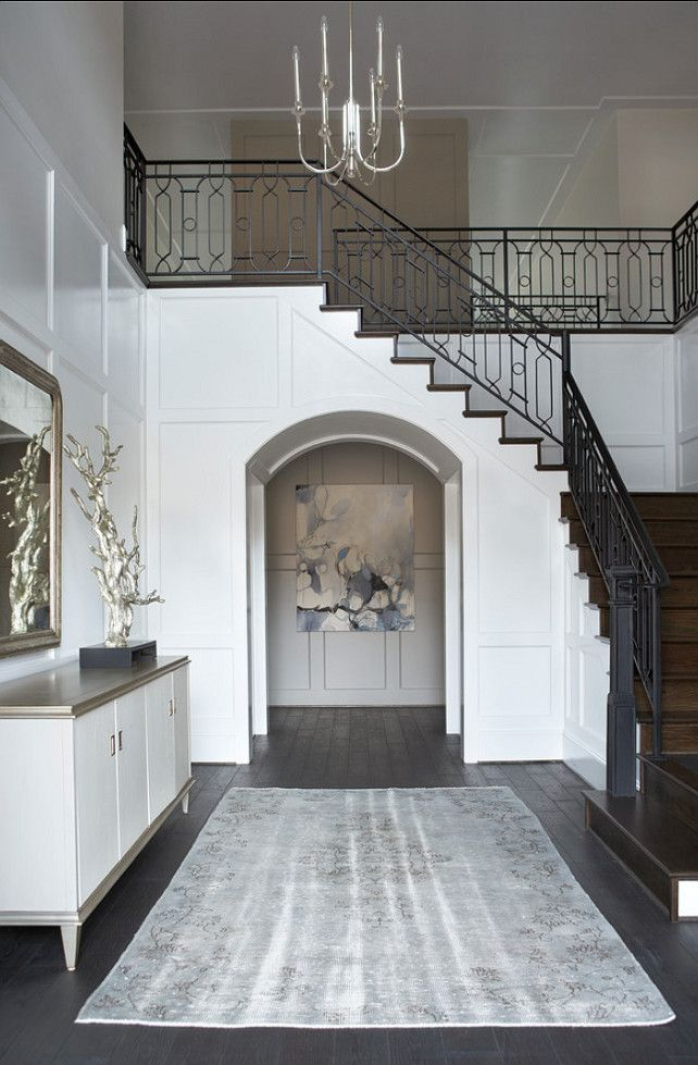1000 images about timeless entryways halls on for Foyer staircase ideas