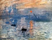 Impression Sunrise by Claude Oscar Monet