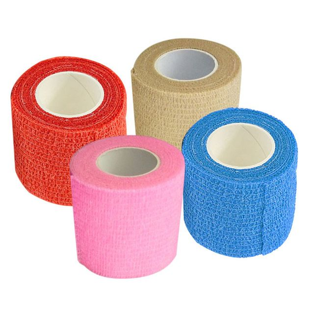 Non-woven Bandages Self-adhesive Tapes Elastic Band Outdoor Fitness Sport Goods