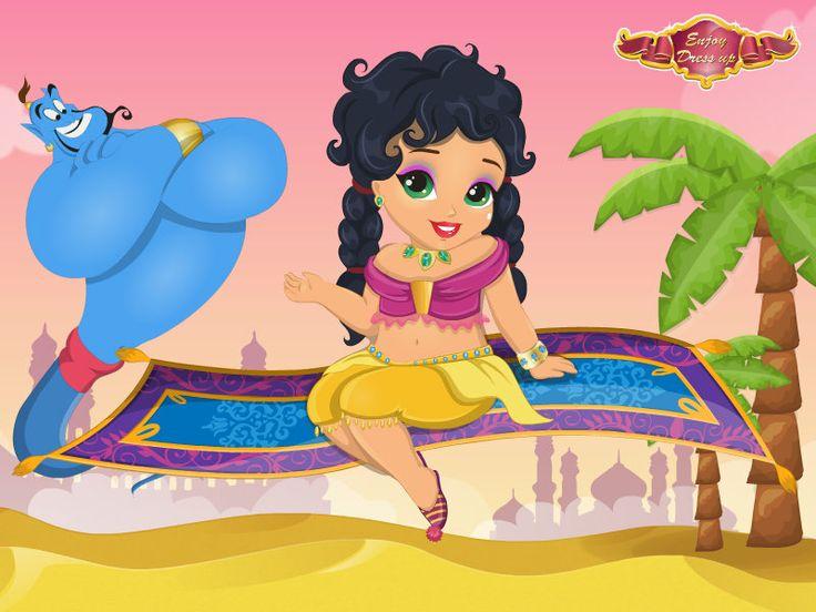 Baby Jasmine Genie Spa   http://www.enjoydressup.com/baby-jasmine-genie-spa