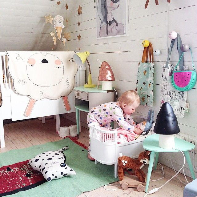 not an inch left bare but I love it all! #estella #kids #decor <3