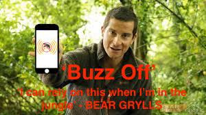 Download our app BuzzOff from the app store for only 99c. 'Repel without the smell'