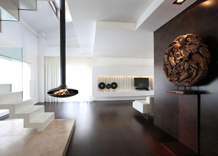 Die besten 25+ Moderne freistehende öfen Ideen auf Pinterest - wohnzimmer modern mit ofen