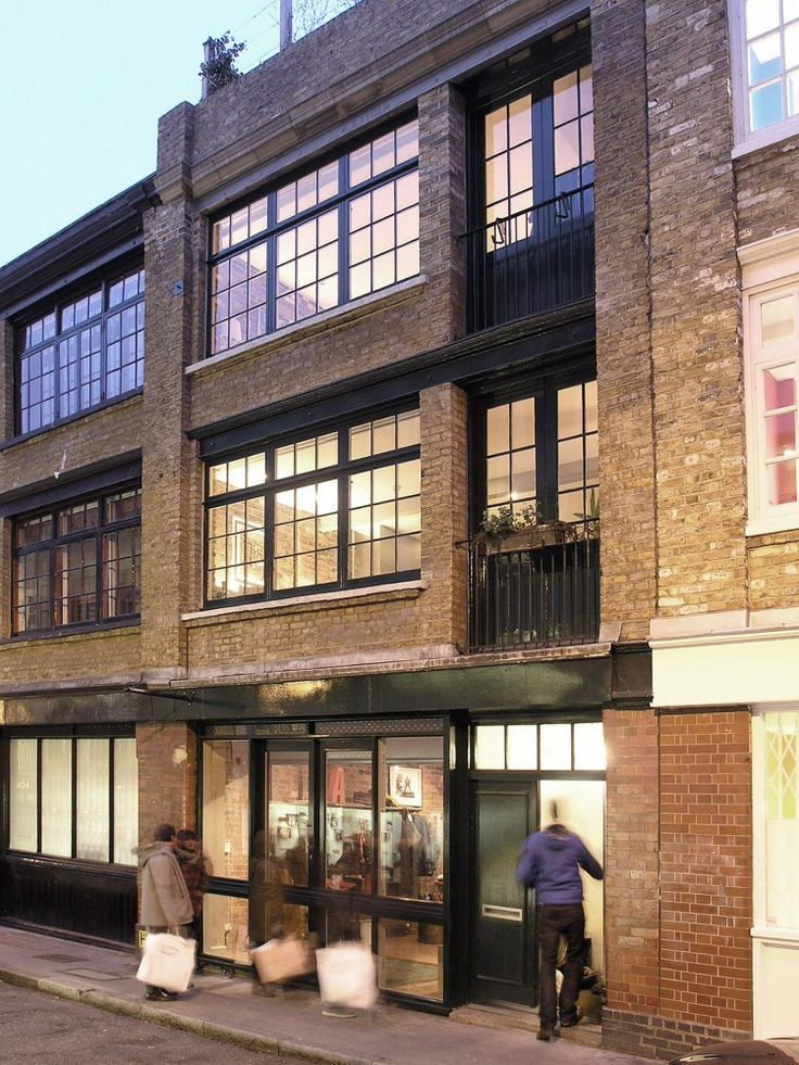 Like many of the streets around Shoreditch, it was built in the late  nineteenth century as a merchant's warehouse in the ...