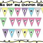 Welcome students back to school with this colorful polka dot and chevron display.  Help students feel comfortable immediately as they walk into you...