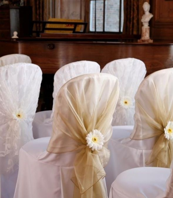 Chair cover Could we do with autumn leaf instead