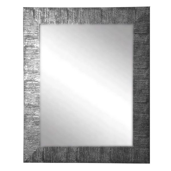 $202 American Made Rayne Silver City Wall Mirror
