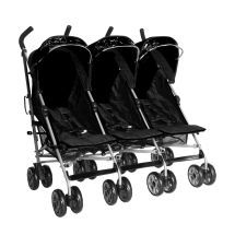 Top Picks Triple Strollers for Triplets: Kidz Kargo Citi Elite Triple Pushchair (UK)