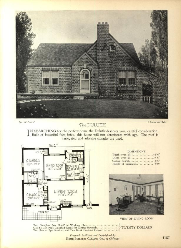 home builders catalog plans of all types of sm vintage house