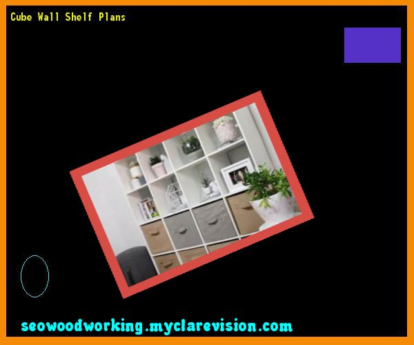 Cube Wall Shelf Plans 093333 - Woodworking Plans and Projects!
