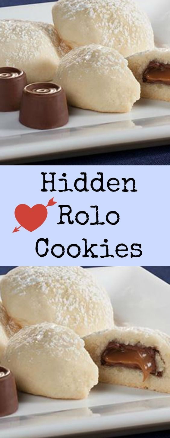 Hidden Rolo Cookies - Just the right combination of sweet.