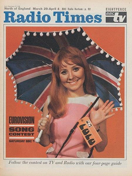 #Eurovision 1969 | Lulu..Boombangabang was the name of the song!