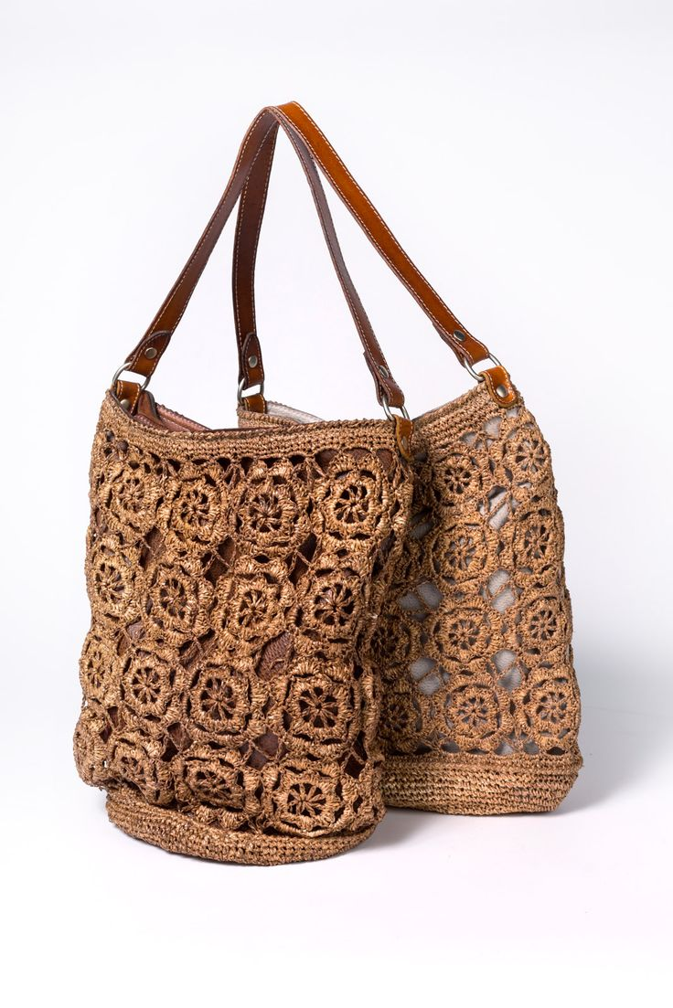 GIPSY style.... Leather basket and ....paper!