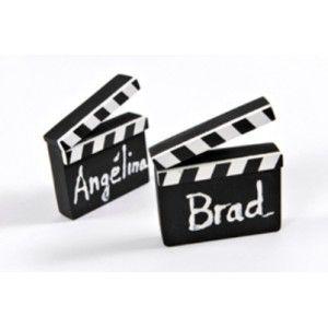 marque place cinéma clap cinéma en bois.