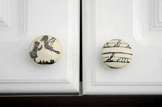 Cute cabinet knobs