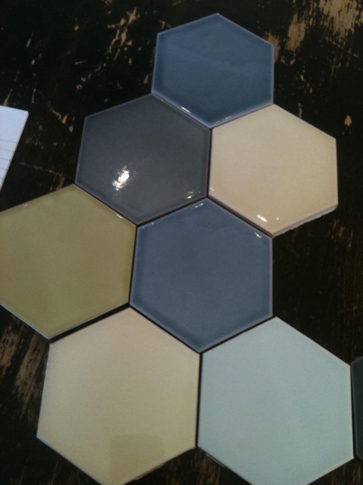 Dahl Studio Fliser i sekskanter