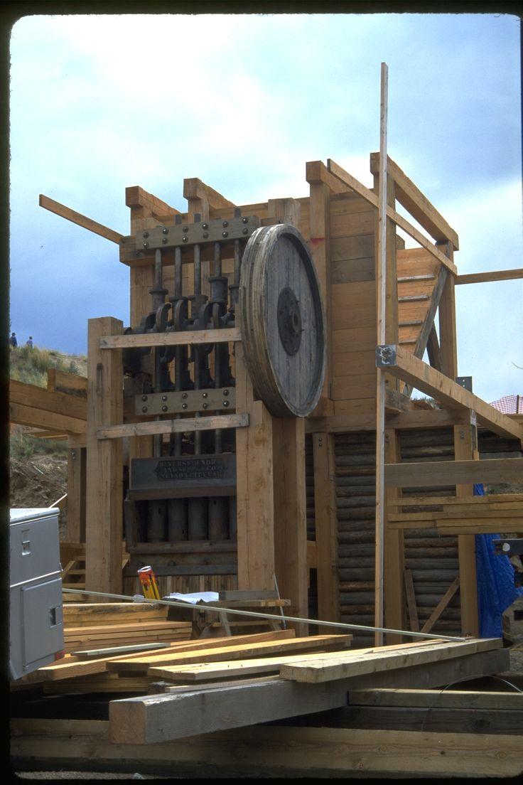 Stamp Mill construction 1997 oregonheritage 10 best