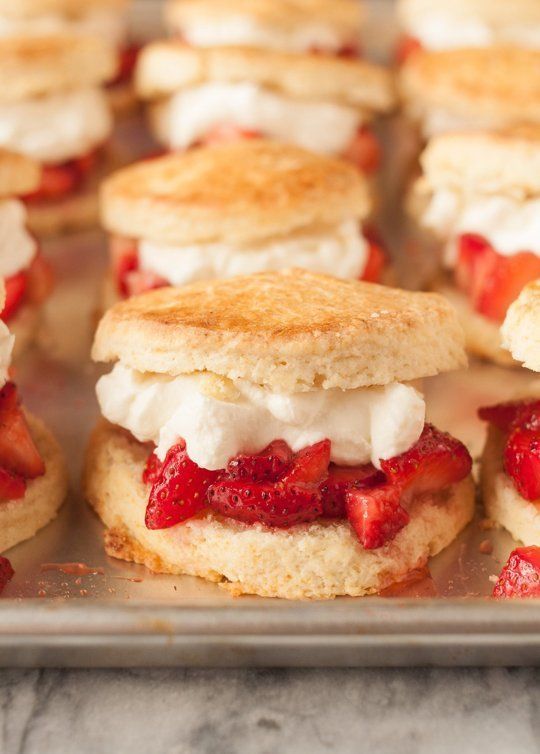 533 best individual party desserts images on pinterest cooking how to make strawberry shortcake for a party forumfinder Image collections