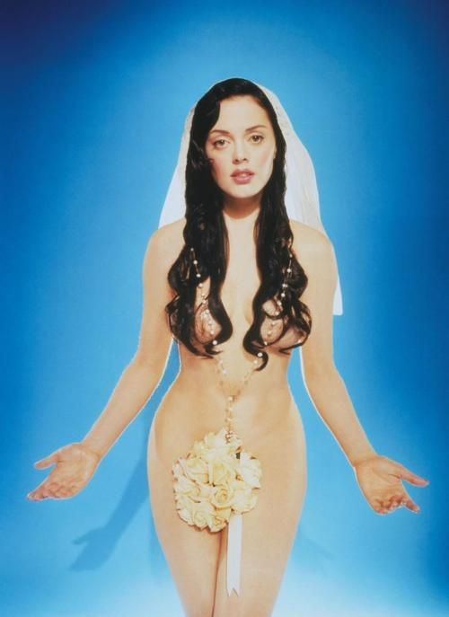 Rose Mcgowan - interview magazine cover...this photo made me always want to play Virgin Mary just for a night.