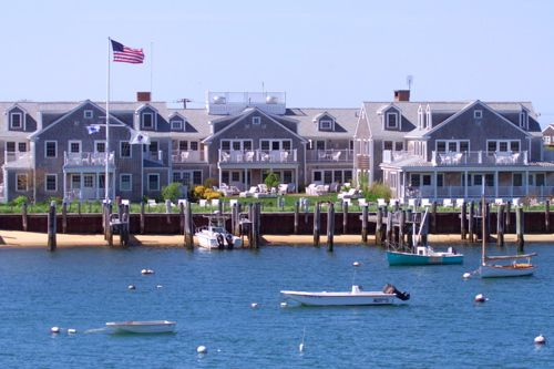 """The White Elephant - Nantucket. I was reprimand for staying here during the Nantucket Film Festival one summer, but in all honesty it was the only room I could find. BUt it was well worth it. Gorgeous resort. My """"room"""" was larger than my apartment, and the locals couldn't have been nicer."""