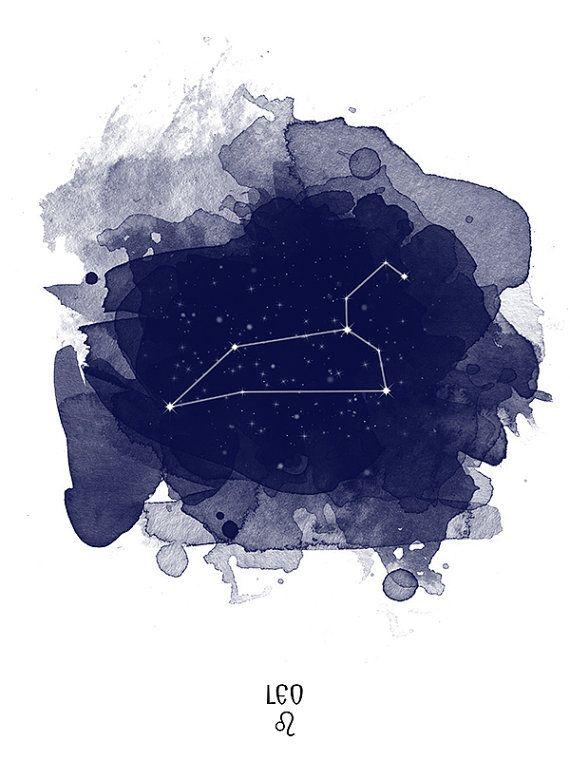 Leo Constellation Leo zodiac Zodiac Constellation by TelleQuelle