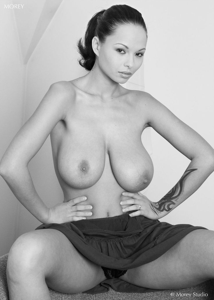 Black and white publick nude your place