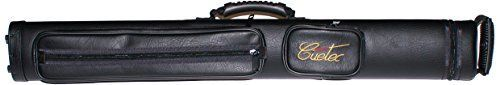 Deluxe hard case with soft black PVC outer covering * Holds 2 butts and 2 shafts separately * Two pouches hold all playing accessories * Two padded handle for comfort * (Placed within the Amazon Associates program) * 02:21 Mar 17 2017