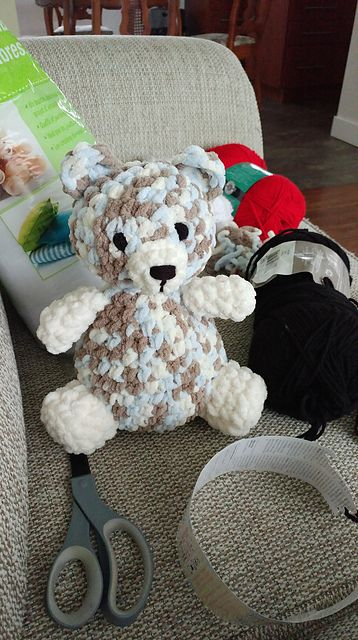 "Soft Baby Bear Amigurumi - Free English Pattern - PDF Format - Click ""download"""