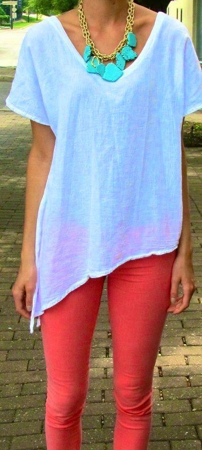 Spring fashion | Street minimal statement necklace
